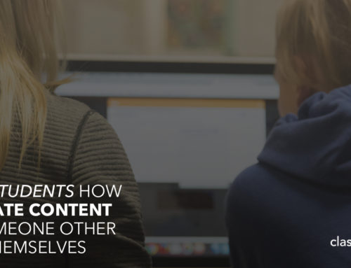 Teach Students How To Create Content For Someone Other Than Themselves