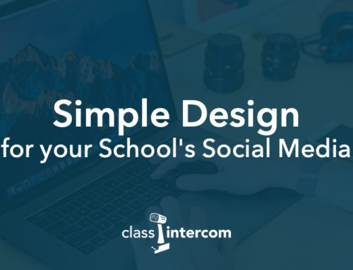 Simple Design for your School's Social Media