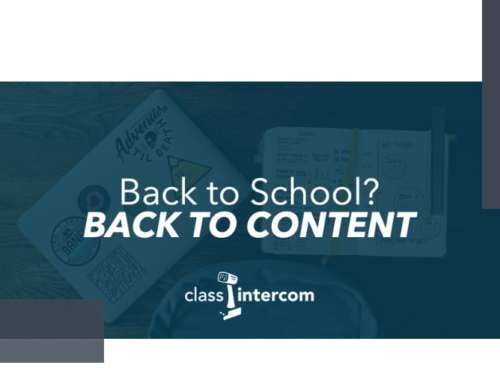 The Content Generation Episode 23: Back To School, Back To Content