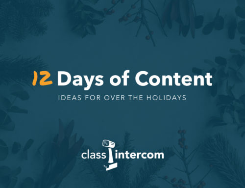 12 Days of Content