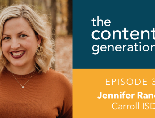 The Content Generation Episode 31: Jennifer Randall