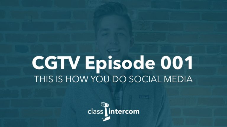 CGTV Episode 001 - This is how you do social media