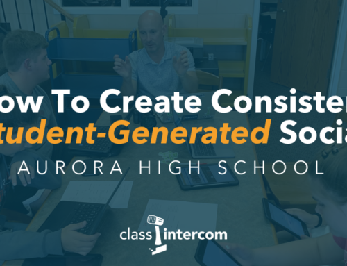 How To Create Consistent Student-Generated Social Media with Aurora High School