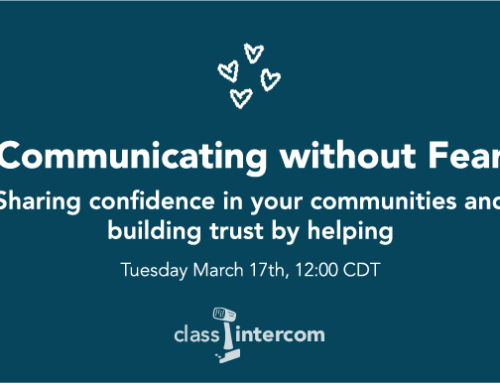 Communicating Without Fear