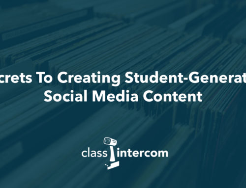 Secrets To Creating Student-Generated Social Media Content